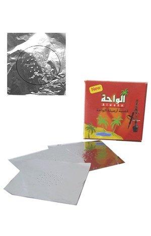 Pierced Hookah Foil - 100 pcs NEW Hooka Shisha Foils (Pierced Bowl Small)
