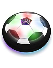 Hover Ball,Hover Soccer Ball for Boys Toys, Toys Floating Soccer, Air Soccer with LED Light for Indoor & Outdoor Game. Hover Football is The Best Gift for Kid.