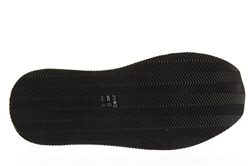 PREMIATA las mujeres bajas zapatillas de deporte CONNY 1926 talla 40 Platino / negro