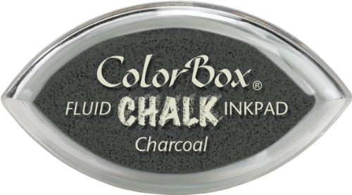 Clearsnap ColorBox Fluid Chalk Cat's Eye Inkpad, Charcoal - Fluid Chalk Ink Pad