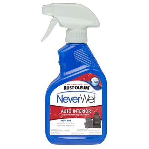 Rust-Oleum 280884 NeverWet 11-Ounce Auto Interior Spray, Clear