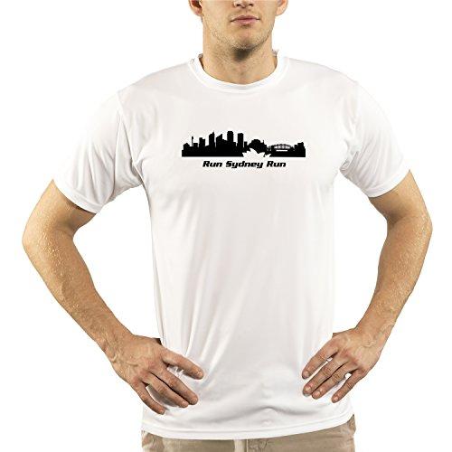 Split Time Men's Sydney UPF Short Sleeve Running T-Shirt SYD-Large - Triathlon Sydney Clothing