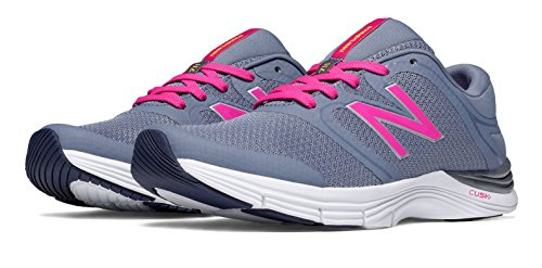 New Balance Wx711 Gym Training Fitness, Women's Sports Shoes, Grey/Pink, 5.5 F UK