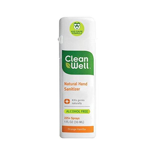 CleanWell Natural Sanitizer Orange Vanilla product image