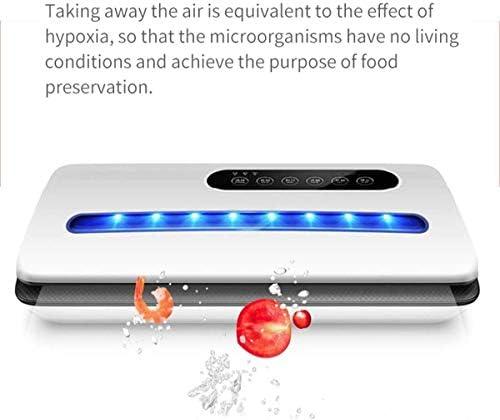 Passez l'aspirateur Scellant Machine professionnelle, vide Scelleur Machine, automatique Food Saver, Déshumidification et alimentation Moist, Led indicateur L DDLS