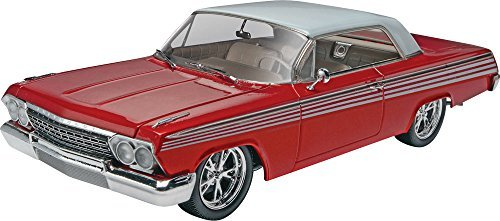 Revell Monogram 1:25 Scale 1962 Chevy Impala SS 2-in-1 Plastic Model Kit by Revell