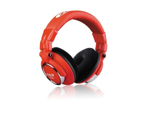 Zomo HD-1200 Professional Stereo Headphones Toxic Red by Zomo