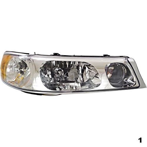 98-02 Town Car Right Passenger Headlamp Assembly