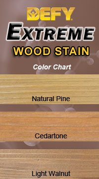DEFY Extreme 5 Gallon Semi-Transparent Exterior Wood Stain, Natural Pine