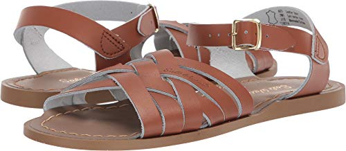 Salt Water Sandals by Hoy Shoes Girl's Retro (Big Kid/Adult) Tan 7 M US Big Kid ()