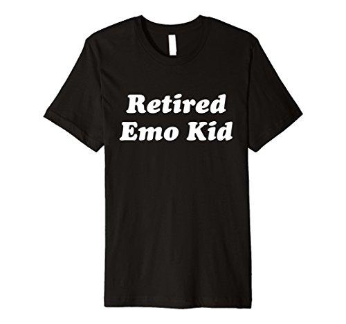 Hipster Humor Retired Emo Kid Premium (Emo Kid T-shirt)