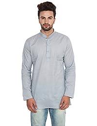 Maple Clothing Cotton Dress Mens Short Kurta Shirt India Fashion Clothes