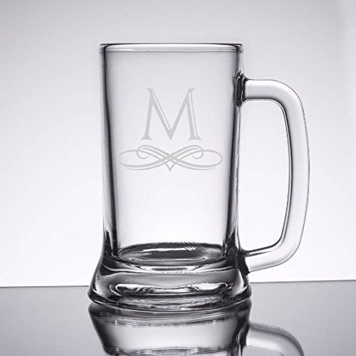 Personalized 16 oz Beer Mugs Set of 6