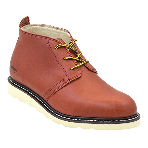 Golden Fox Arizona II Men's Chukka Boot Casual Workboots Redwood 9
