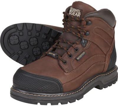 Gravel Gear Waterproof 6in. Steel Toe Work Boot