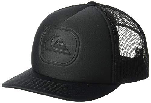 Quiksilver Boys' Big Heat Pinch Youth Trucker HAT, Black, 1SZ (Little Boys Hat Quiksilver)