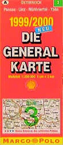 Die Generalkarten Österreich, Bl.3, Linz, Braunau, Amstetten