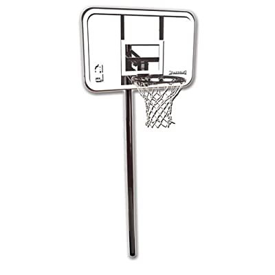 Spalding 88361 In-Ground 44in Polycarbonate Backboard Basketball Hoop