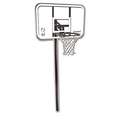 Spalding 88361 In-Ground 44in Polycarbonate Backboard Basketball Hoop