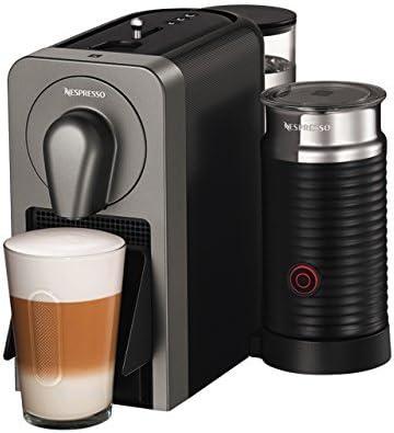 Nespresso XN411T Krups Prodigio & Milk-Cafetera (1260 W, 220-240 V, 19 Bares de presión, Bluetooth), Gris, 1700 W, 1 Cups (Reacondicionado): Amazon.es: Hogar