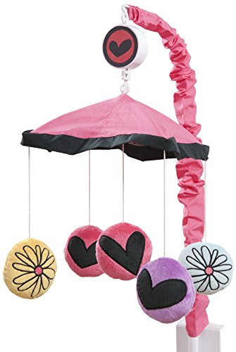 One Grace Place Sassy Shaylee Mobile, Black, Pink, and Purple