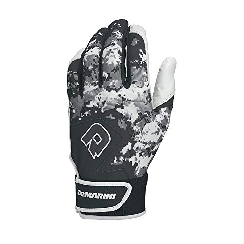 DeMarini Digi Camo II Adult Batting Glove-Black Large
