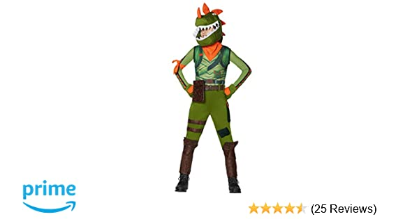 Spirit Halloween Boys Rex Fortnite Costume | Officially Licensed
