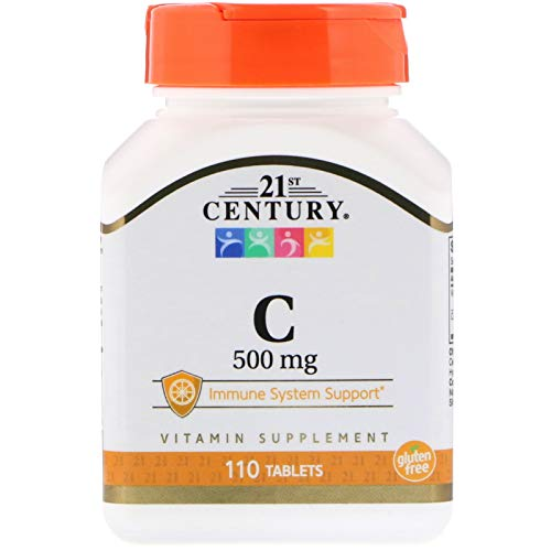 (21st Century, C, 500 mg, 110 Tablets)