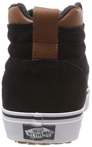 Vans asphalt Black Hi Collo Ward K8u A mte Nero Alto Mte Sneaker Uomo ZxZpPf