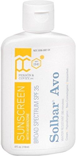 Solbar Avo Sunscreen Lotion SPF 35 4 oz Pack of 4