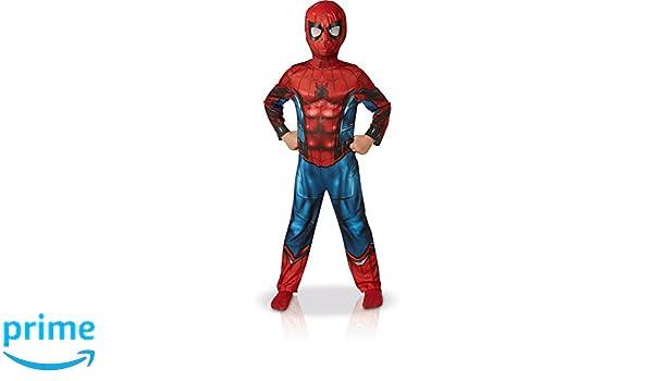 Rubies - Disfraz clásico de Spider-Man Homecoming: Amazon.es: Juguetes y juegos