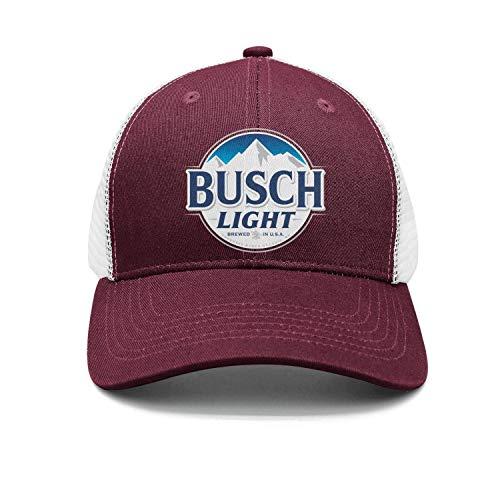 - srygjukuu Unisex Busch-Light-Beer-Sign- Trucker Hat Designer mesh Caps