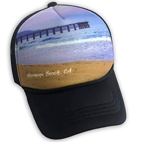 Sol Baby Hermosa Beach Pier Infant/Toddler Trucker Hat-M-Black ()