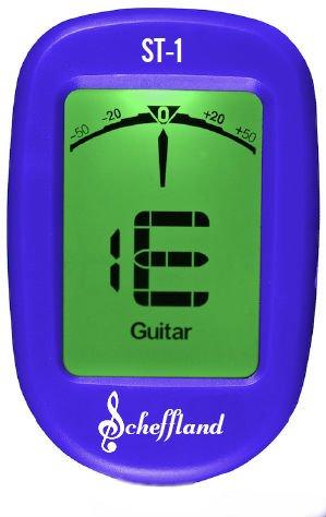 Scheffland Music The Scheffy Guitar Tuner Clip On (Professional Guitar Tuner)