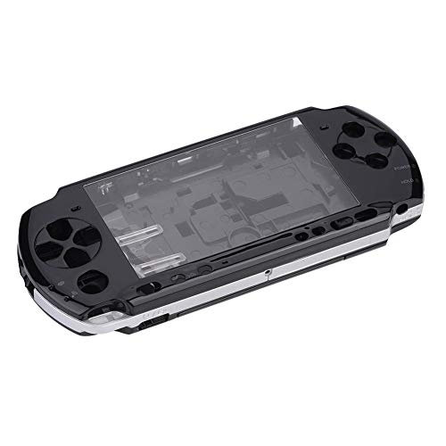 (Wendry Game Shell for PSP 3000,Replacement Full Housing Console Game Shell Case Cover Repair Parts for PSP 3000 (Black))