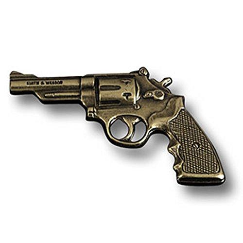 Smith & Wesson Pistol Tie Tac Pin K-Frame Revolver Model 19 38 Handgun
