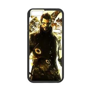 deus e human revolution iPhone 6 Plus 5.5 Inch Cell Phone Case Black yyfD-243224