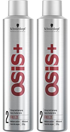 OSiS+ FREEZE FINISH Hairspray, 9.1-Ounce (2-Pack)