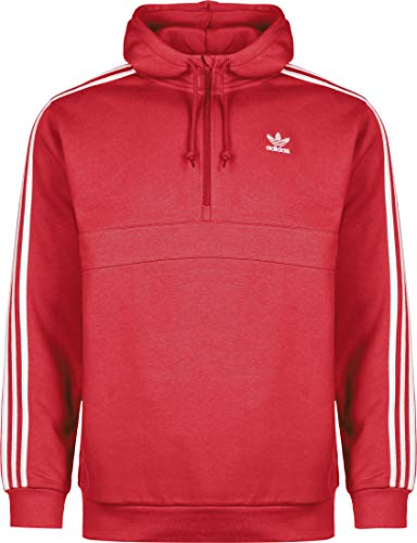 adidas Mens 3-Stripes Hz Hooded Sweatshirt