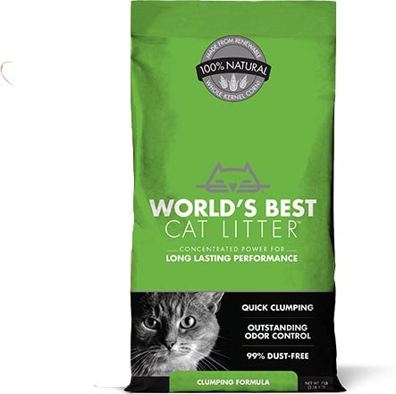 Worlds-Best-Cat-Litter-Clumping-Litter-Formula-28-Pounds