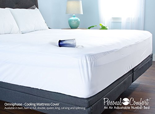 Cooling Mattress Protector - King (Sleep Number Bed King Cover compare prices)
