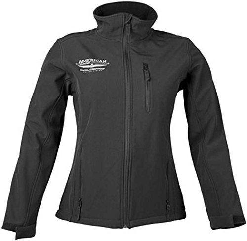 Honda Goldwing Touring Collection Soft Shell Women's Street Motorcycle Jacket - Black / Large