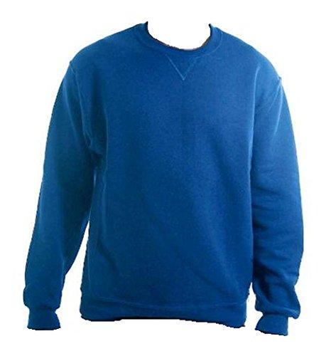 Russell Athletic 99809B0 NuBlend Crewneck Sweatshirt Royal Size Youth Large