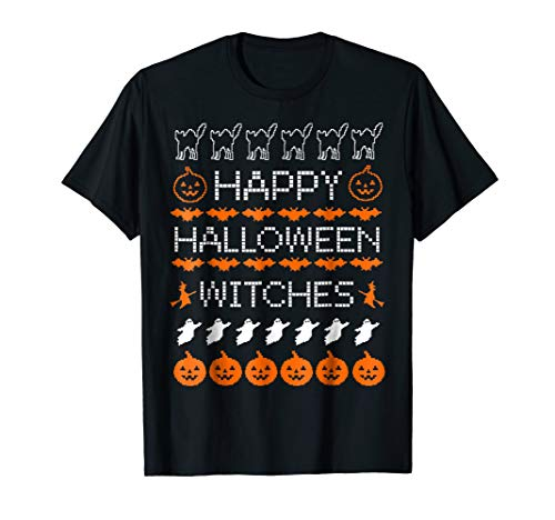 Happy Halloween Witches Ugly Shirt Party Costume Gift ()