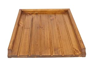 Stylish Raised Wooden Draining Board For Belfast Kitchen Sink Or Butler    Large Wood Drainer