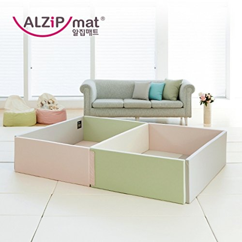[Alzip Mat] Baby Playard_Guard Castle SG (Guard Only) (Gray) by Alzipmat