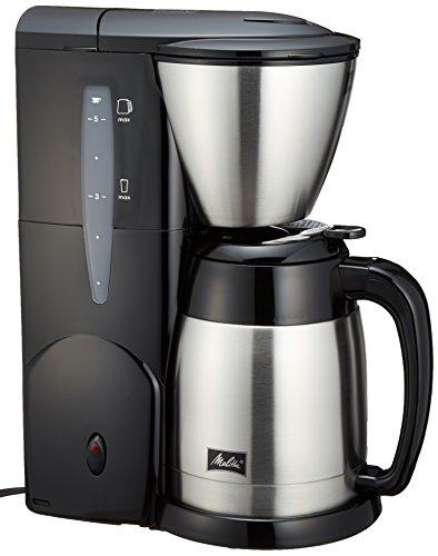 Paper Melitta ([Corresponding to 2 to 5 cups for ? 1~2 filter paper] Melitta aroma thermo stainless II jet black MKM-531/B)