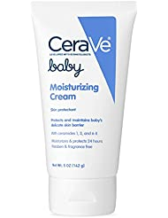 CeraVe Baby Moisturizing Cream 5 oz with Ceramides for Moisturizing, Protecting and Maintaining Baby's Delicate Skin