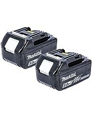 Makita 2BL1850 Laddningsbar Batteri, 18 V, Svart, 2 st