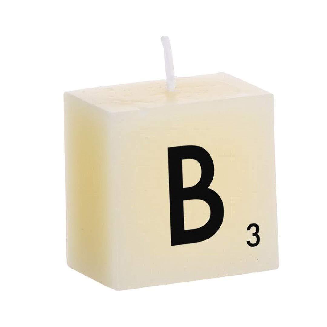 DCasa Bougie Type Scrabble B